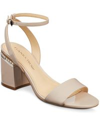 Ivanka Trump - Women's Anina Patent Leather Ankle Strap Sandals - Lyst