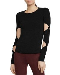 Bailey 44 - Infiltration Knot Cutout-sleeve Sweater - Lyst