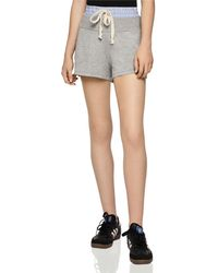 BCBGeneration - Striped-waist Shorts - Lyst