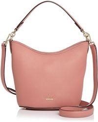 3c1d06eb6f93 Kate Spade - Jackson Street Rubie Small Pebbled Leather Bucket Bag - Lyst
