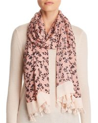 Kate Spade - Wild Roses Oblong Scarf - Lyst