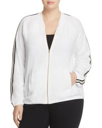 Juicy Couture - Microterry Stripe Track Jacket - Lyst