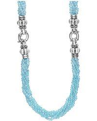 Lagos - Caviar Icon Bead Convertible Bracelet & Necklace - Lyst