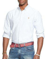 Polo Ralph Lauren - Multi-striped Oxford Shirt - Classic Fit - Lyst