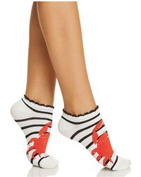 Kate Spade - Crab Ankle Socks - Lyst