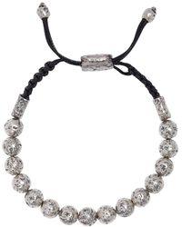 John Varvatos - Artisanal Silver Bracelet - Lyst
