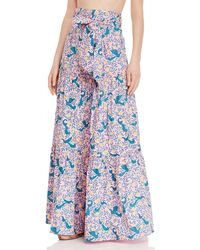 brand: Banjanan - Discovery Floral Tiered Skirt - Lyst