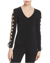 Bailey 44 - Stagecoach Lace-up Sleeve Jumper - Lyst
