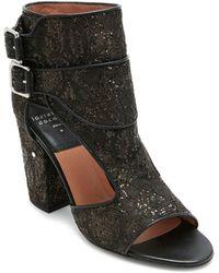 Laurence Dacade - Women's Rush Glitter Lace Block Heel Sandals - Lyst