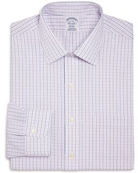 Brooks Brothers   Alternating Grid Check Classic Fit Dress Shirt   Lyst