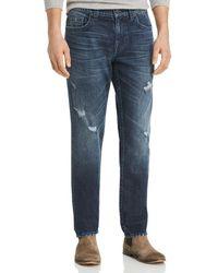 True Religion - Geno Straight Fit Jeans In Worn Santiago - Lyst