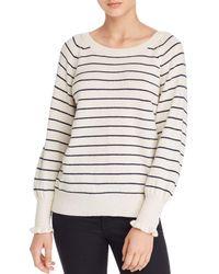 Rebecca Taylor - Striped Sweater - Lyst