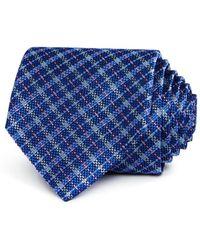 Bloomingdale's - Plaid Silk Classic Tie - Lyst