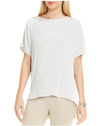 Two By Vince Camuto - Chalk Stripe Dolman Sleeve Top - Lyst