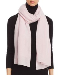 C By Bloomingdale's - Solid Oversized Cashmere Wrap - Lyst