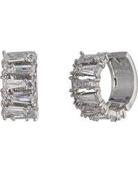 Carolee - Huggie Earrings - Lyst