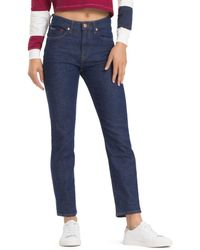 125fdbd0 Tommy Hilfiger - Izzy 1990 High-rise Slim Jeans In Tommy Classic Rinse -  Lyst