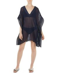 Ted Baker - Anarela Embroidered Tunic Swim Cover-up - Lyst