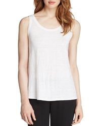 Eileen Fisher - System Scoop Neck Long Tank - Lyst