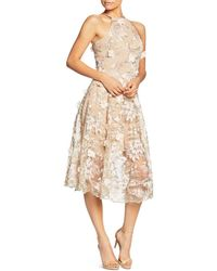 Dress the Population - Evelyn Floral Midi Dress - Lyst