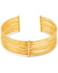 Gorjana - Josey Multi Layer Bar Cuff Bracelet - Lyst