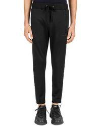 The Kooples - Technical Fleece Slim Fit Sweatpants - Lyst