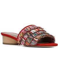 Donald J Pliner - Women's Reise Fringe Slide Sandals - Lyst