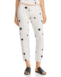 Monrow - Super Soft Sweats With Scattered Hearts - Lyst