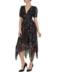 aebe7f585 The Kooples Bollywood Floral Dress in Red - Lyst