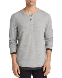 Theory - Double Layer Henley - Lyst