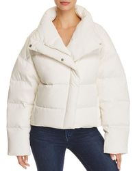 Theory - Offset Puffer Jacket - Lyst