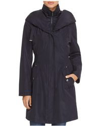Laundry by Shelli Segal - Smocked Windbreaker Raincoat - Lyst