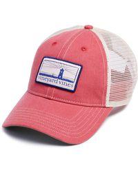 Vineyard Vines - Lighthouse Logo Patch Trucker Hat - Lyst