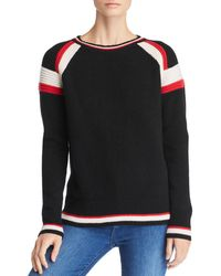 C By Bloomingdale's - Textured Cashmere Stripe Crew Jumper - Lyst