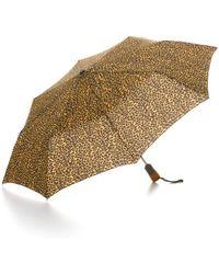 Bloomingdale's - Cheetah Print Umbrella - Lyst