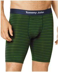 Tommy John | Cool Cotton Mitch Stitch Long Boxer Briefs | Lyst
