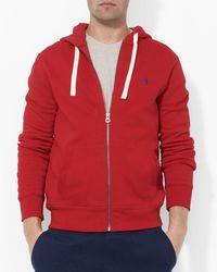 Polo Ralph Lauren - Classic Full-zip Fleece Hoodie - Lyst