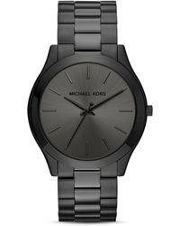 Michael Kors - Slim Runway Bracelet Watch - Lyst