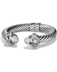 David Yurman - Renaissance Bracelet With Diamonds - Lyst