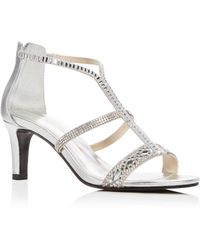 Caparros - Women's Loretta Embellished Strappy Sandals - Lyst