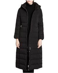 CALVIN KLEIN 205W39NYC - Hooded Maxi Down Coat - Lyst