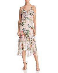 Parker - Josie Floral Silk Dress - Lyst