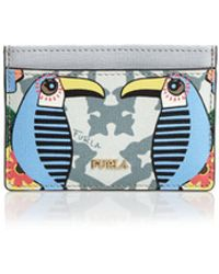 Furla - Babylon Small Leather Card Case - Lyst