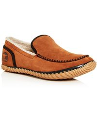 Sorel - Men's Dude Moc Suede Slippers - Lyst