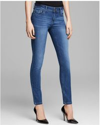 DL1961 - Florence Instasculpt Skinny Jeans In Pacific - Lyst