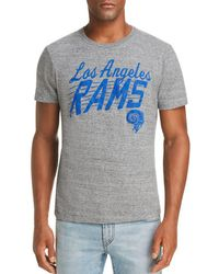 Junk Food - Rams Marled Graphic Tee - Lyst