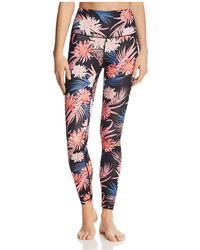 Spiritual Gangster - Tropics Floral Print Leggings - Lyst