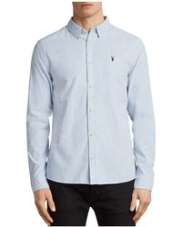 AllSaints - Kilda Slim Fit Button-down Shirt - Lyst