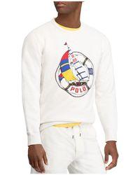 Polo Ralph Lauren - Cp-93 Graphic Crewneck Sweatshirt - Lyst