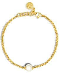 Majorica - Classic Link Bracelet - Lyst